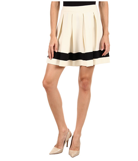 Fuste Moschino - WG B88 80 S 2503 Skirt - White/Black