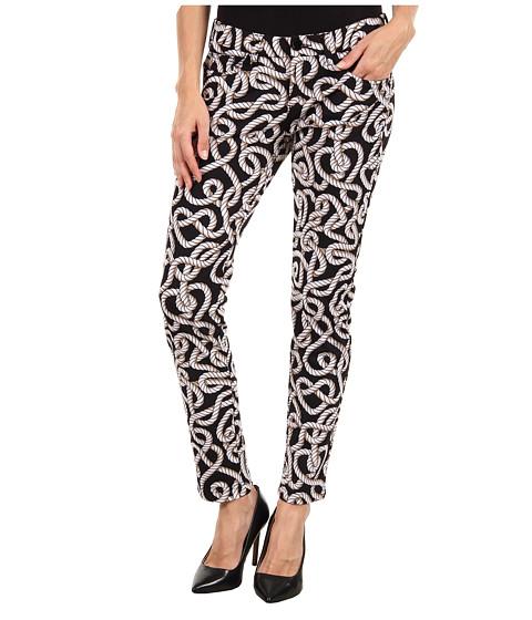 Pantaloni Moschino - W1 303 82E 1595 Pant - Black/White Rope Print