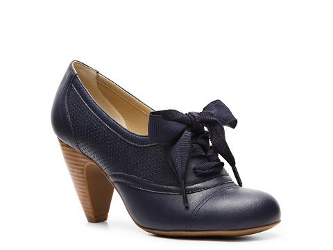 Pantofi Crown Vintage - Cherilyn Oxford Pump - Navy