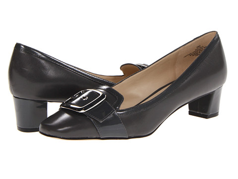 Pantofi Nine West - Tirla - Grey/Grey Leather