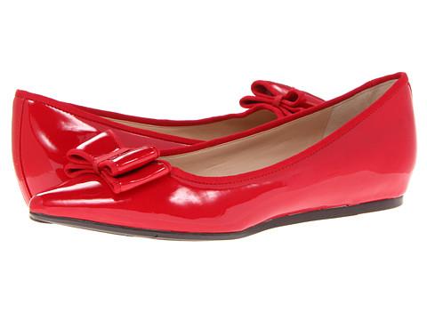 Balerini Nine West - Jowhona - Red Patent