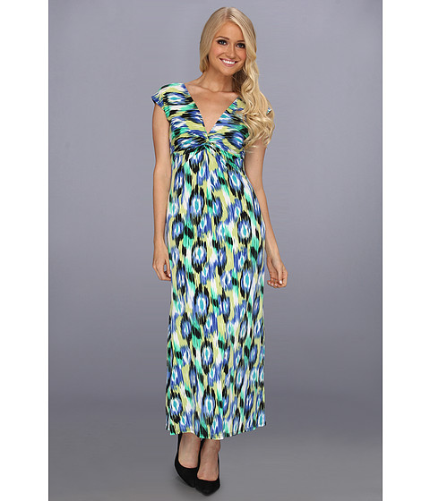 Rochii elegante: Rochie Christin Michaels - Cora Dress - Blue/Multi