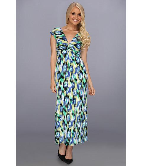 Rochii elegante: Rochie Christin Michaels - Cora Dress - Blue/Multi