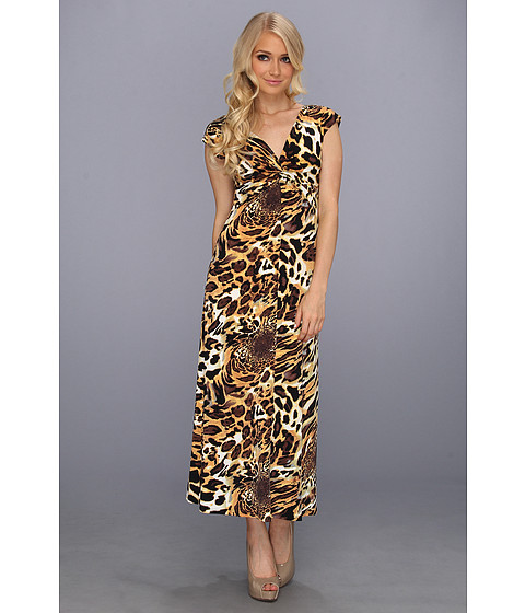 Rochii elegante: Rochie Christin Michaels - Cora Dress - Leopard