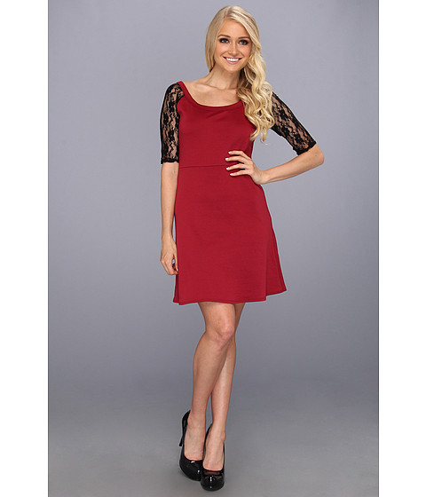 Rochii elegante: Rochie Christin Michaels - Haila Dress - Wine