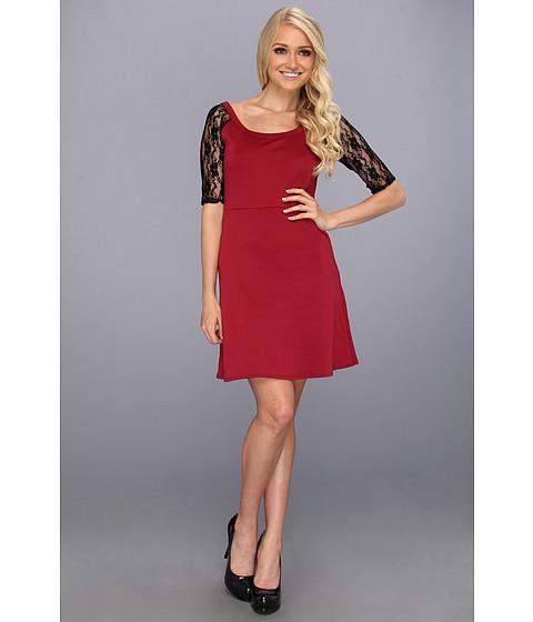 Rochii elegante: Rochie Christin Michaels - Haila Dress - Wine
