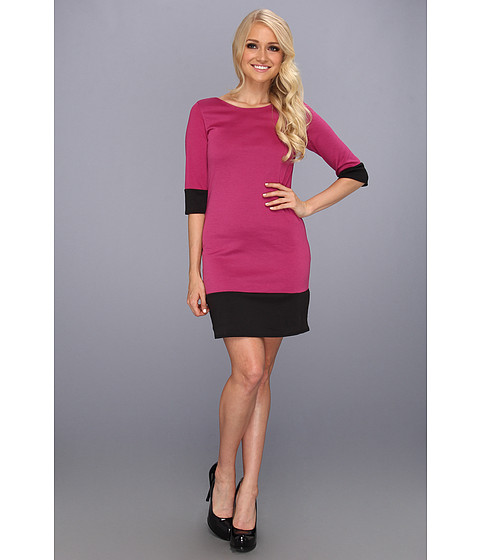 Rochii elegante: Rochie Christin Michaels - Harolyn Dress - Magenta/Black