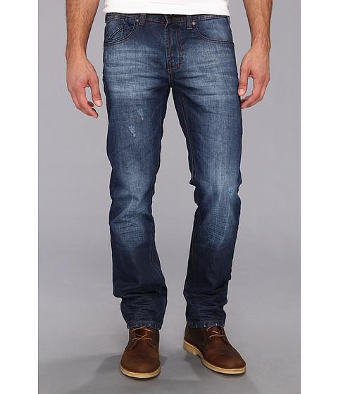 Blugi Fresh Brand - Julian Twisted Leg Wash Denim - Blue