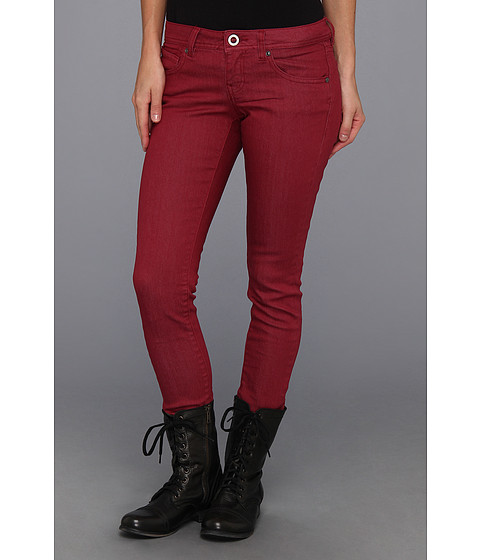 Pantaloni Volcom - Soundcheck Super Skinny Denim - Burgundy