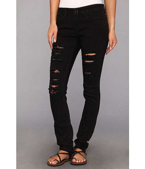Blugi Volcom - Soundcheck Super Skinny Denim - Worn Black
