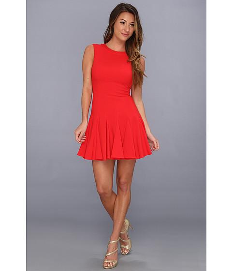 Rochii BCBGMAXAZRIA - Petite Kalyn Sleeveless Godet Dress - Jewel Red