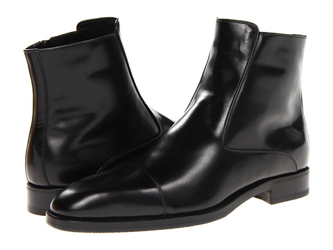 Ghete A. Testoni - Cap Toe Pull On Boot - Nero