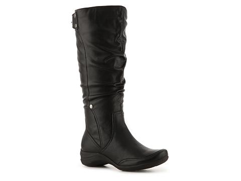 Pantofi Hush Puppies - Altenative Wide Calf Boot - Black