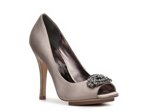 Pantofi Audrey Brooke - Aubrey Platform Pump - Grey