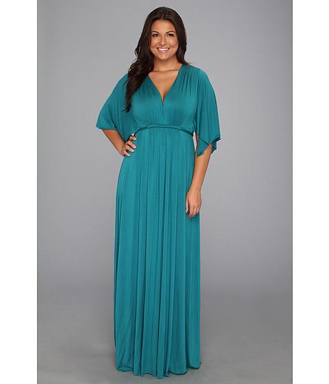 Rochii Rachel Pally - Plus Size Long Caftan Dress - WL - Topaz
