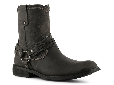 Pantofi Bed Stu - Vintage Motley Boot - Distressed Black