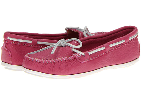 Balerini Minnetonka - Boat Moc - Fuchsia Leather