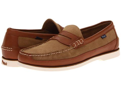 Pantofi Polo Ralph Lauren - Blackley Penny Canoe - Tan