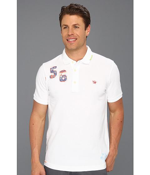 Tricouri True Religion - Palm Tree Polo Shirt - V1 White