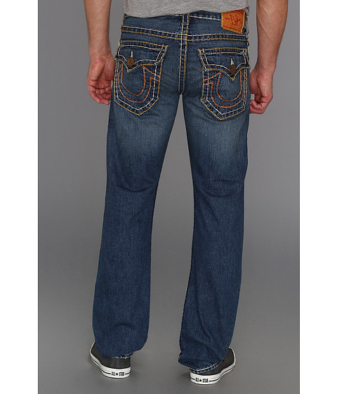 Blugi True Religion - Ricky Straight Super T String/Indigo in Tribute - Tribute