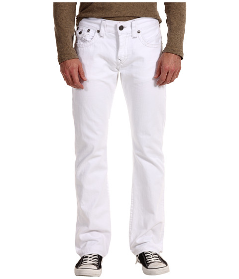 Blugi True Religion - Ricky Straight in Optic White - Optic White