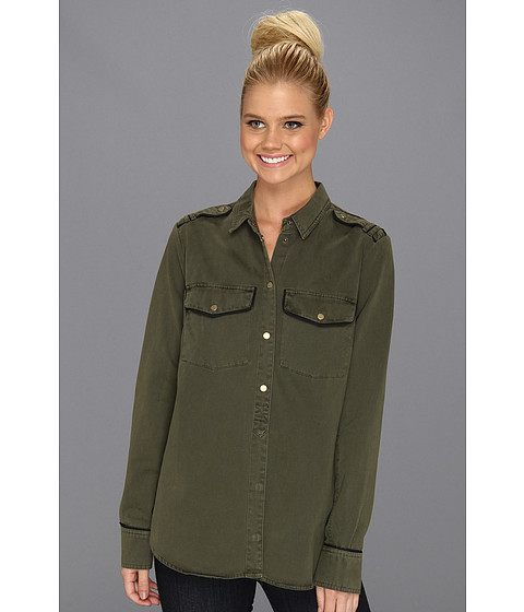 Camasi Sanctuary - Army Shirt Jacket - Northern Green