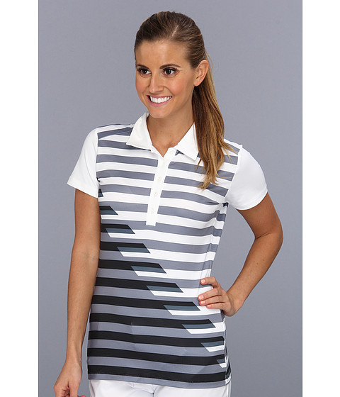 Tricouri Nike - Graphic Stripe Polo - Whtie