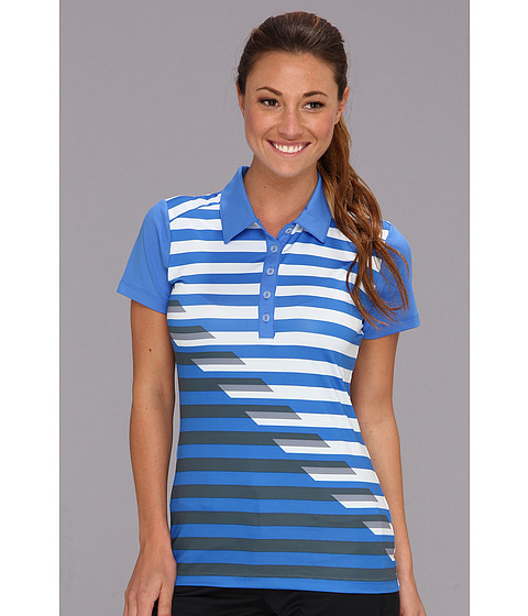 Tricouri Nike - Graphic Stripe Polo - Distance Blue