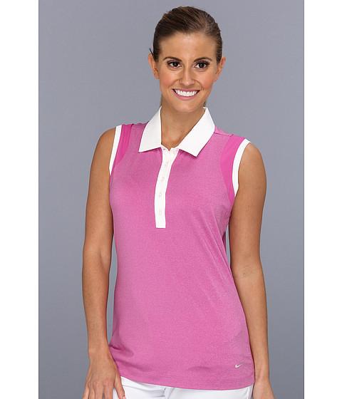 Bluze Nike - Novelty Heather Sleeveless Top - Club Pink