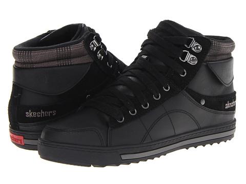 Adidasi SKECHERS - Kicks - Fold Shoe - Black
