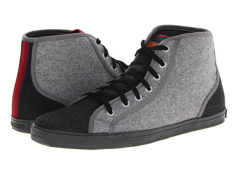 Adidasi Ben Sherman - Breckon High Flannel - Black/Charcoal