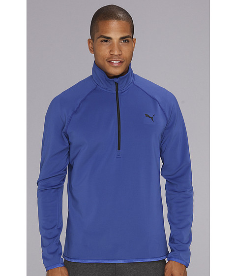 Bluze PUMA - Technical Quarter Zip - Mazarine Blue/Black