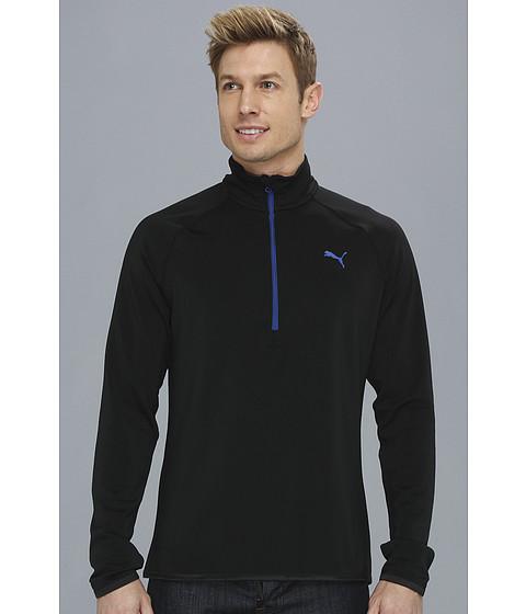 Bluze PUMA - Technical Quarter Zip - Black/Mazarine Blue