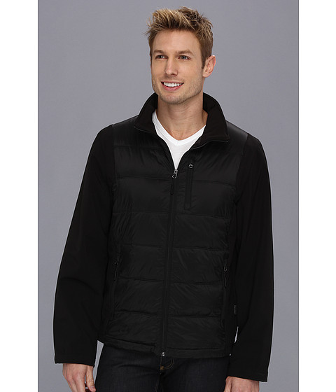 Jachete Calvin Klein - Soft Shell Mixed Media - Black