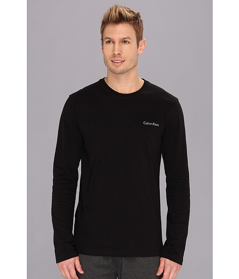 Lenjerie Calvin Klein - Long Sleeve Logo T-Shirt - Black
