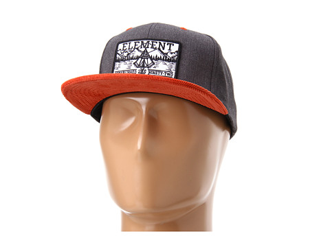 Sepci Element - Camper Snapback Hat - Charcoal
