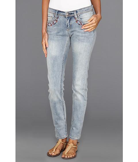 Pantaloni Roxy - Sunburners Embellished Skinny Fit Jean in Faded Glory Wash - Faded Glory Wash