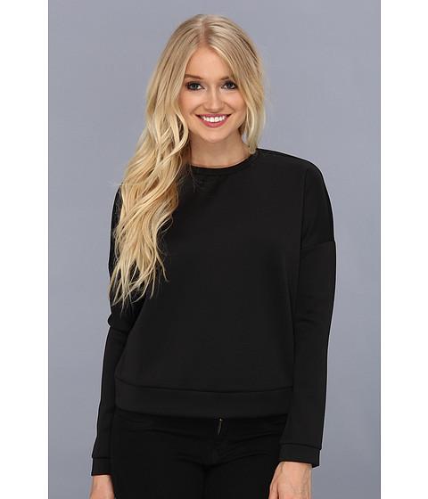 Bluze BCBGeneration - Scuba Drop Shoulder Sweatshirt - Black