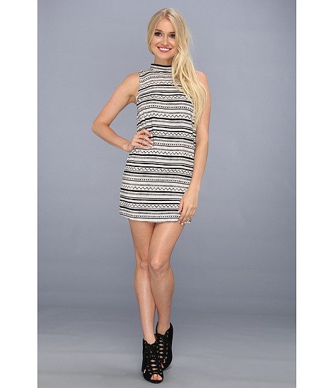 Rochii BCBGeneration - Sleeveless Round Neck Dress - Icy Grey Co