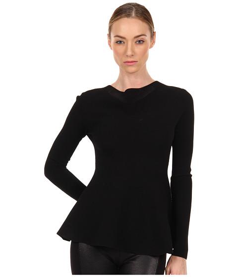 Bluze Calvin Klein - Jonda Peplum Top - Black
