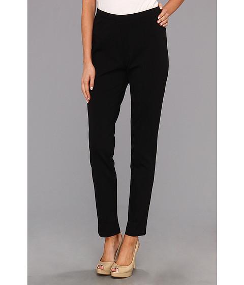 Pantaloni NIC+ZOE - The Scarlett Ponte Slim Pant - Black Onyx 2