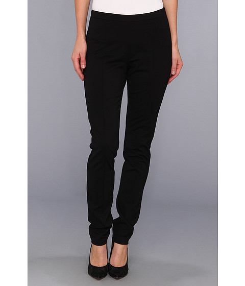 Pantaloni NIC+ZOE - The Scarlett Ponte Slim Pant - Black Onyx 3