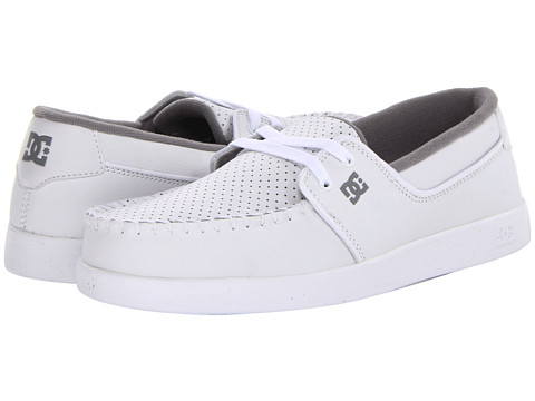 Adidasi DC - Trouble - White