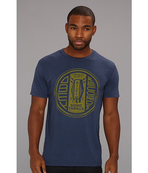 Tricouri Obey - Sonic Thrills Antique Tee - Navy