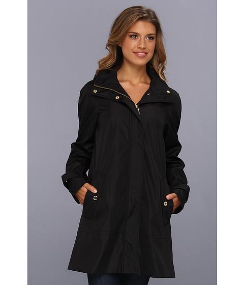 Jachete Calvin Klein - Asymmetrical Rain Trench Belted Coat - Black