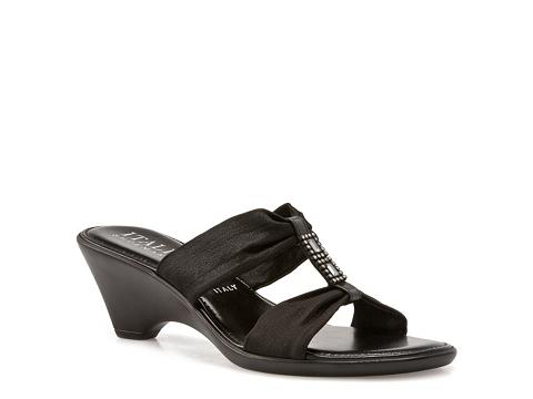Sandale Italian Shoemakers - Devise Wedge Sandal - Black