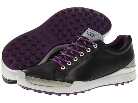 Adidasi ECCO - Biom Golf Hybrid - Black/Imperial Purple