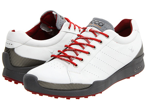 Adidasi ECCO - Biom Golf Hybrid - White/Brick