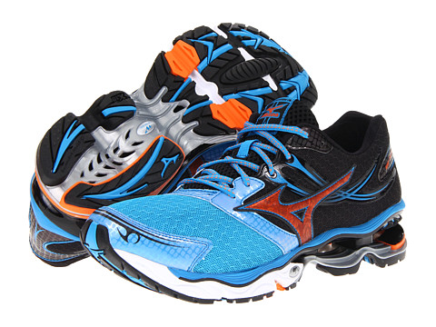 "Adidasi Mizuno - WaveÃ'® Creationâ""¢ 14 - Dude Blue/Vibrant Orange/Anthracite"