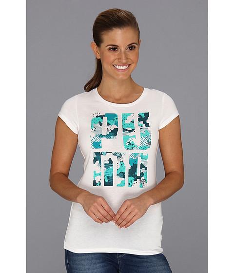 Tricouri PUMA - Logo Plus Tee - White